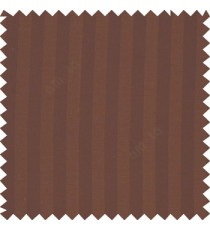 Dark chocolate brown color texture finish vertical bold stripes horizontal small dots line with thick poly main curtain