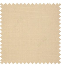 Beige color slub art silk solids complete plain surface designless horizontal lines embossed pattern with polyester main curtain