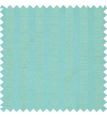 Aqua blue color texture finish vertical bold stripes horizontal small dots line with thick poly main curtain