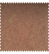 Dark chocolate brown color color complete texture finished with transparent net finished polyester horizontal and vertical short lines sheer curtain