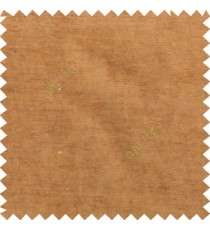 Golden brown color complete plain horizontal texture stripes with chenille base polyester sofa fabric