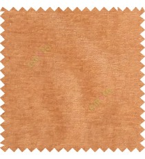 Brown color complete plain horizontal texture stripes with chenille base polyester sofa fabric