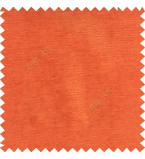 Carrot orange color complete plain horizontal texture stripes with chenille base polyester sofa fabric