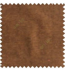 Copper brown color complete plain horizontal texture stripes with chenille base polyester sofa fabric