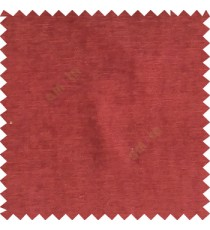 Doll maroon color complete plain horizontal texture stripes with chenille base polyester sofa fabric