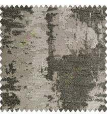 Black grey color texture finished gradients surface horizontal fine thread lines on shiny plain base polyester fabric random texture designs main curtain