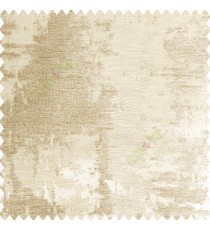 Beige gold color texture finished gradients surface horizontal fine thread lines on shiny plain base polyester fabric random texture designs main curtain