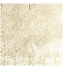 Beige color combination complete texture finished surface snakeskin texture and connecting each other lines vertical and horizontal lines embroidery polyester main curtain