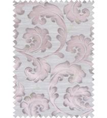 Pink beige colour lilac traditional design polycotton main curtain designs
