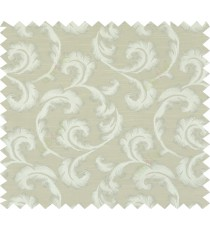 Green beige colour lilac traditional design polycotton main curtain designs