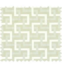 Beige green colour weave wicker pattern polycotton main curtain designs