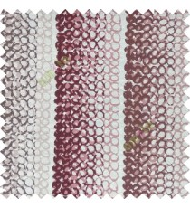 Light brown cream brown color vertical stripes circles texture finished surface polyester main curtain fabric