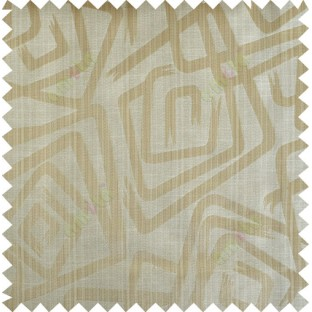 Yellow beige gold colour contemporary design polycotton main curtain designs