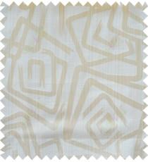 Beige gold white colour contemporary design polycotton main curtain designs