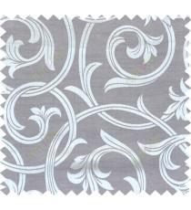 Grey beige brown colour elegant traditional design polycotton main curtain designs