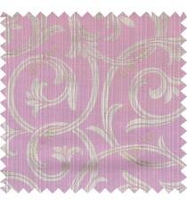 Pink brown beige colour elegant traditional design polycotton main curtain designs