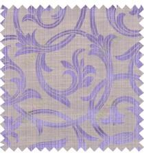 Purple beige black colour elegant traditional design polycotton main curtain designs