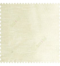 Pale yellow cream color horizontal thin lines with transparent polyester base fabric sheer curtain
