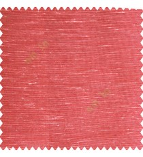 Maroon cream color horizontal thin lines with transparent polyester base fabric sheer curtain