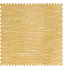 Gold beige color horizontal thin lines with transparent polyester base fabric sheer curtain