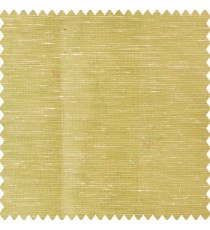 Golden beige color horizontal thin lines with transparent polyester base fabric sheer curtain