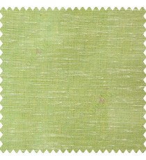 Green cream color horizontal thin lines with transparent polyester base fabric sheer curtain