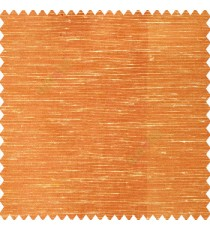 Orange cream color horizontal thin lines with transparent polyester base fabric sheer curtain