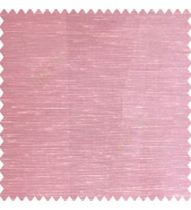 Pink cream color horizontal thin lines with transparent polyester base fabric sheer curtain