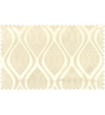 Beige gold grey color seamless traditional pattern polycotton main curtain designs