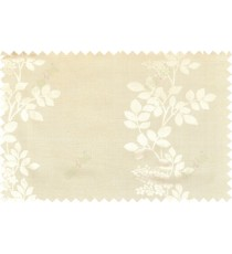 Beige gold grey color natural floral with thick texture fab polycotton main curtain designs