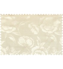 Beige gold grey color beautiful natural rose flower pattern polycotton main curtain designs
