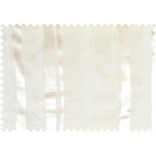 Beige white color vertical stripes with thick texture fab polycotton main curtain designs