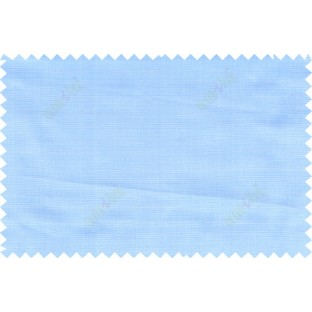Blue grey color solid texture finished polycotton main curtain designs