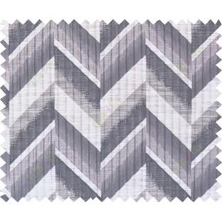 Black beige grey colour herringbone pattern polycotton main curtain designs