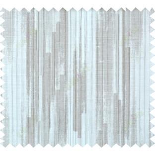 Beige brown silver color vertical pencil stripes polycotton main curtain designs