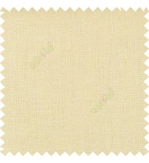 Cream color solid plain finished surface designless complete pattern free soft touch pure cotton curtain fabric