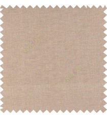 light brown color solid plain finished surface designless complete pattern free soft touch pure cotton curtain fabric