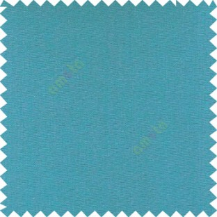 Blue color solid plain finished surface designless complete pattern free soft touch pure cotton curtain fabric