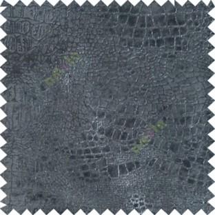Black silver texture design velvet finish nylon curtain fabric