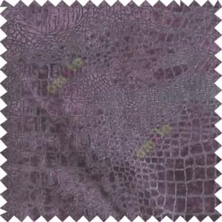 Purple silver texture design velvet finish nylon curtain fabric