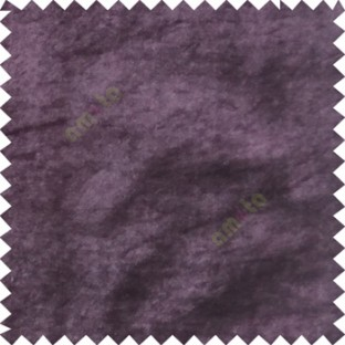 Purple plain design velvet finish nylon curtain fabric
