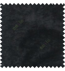 Black plain design velvet finish nylon curtain fabric