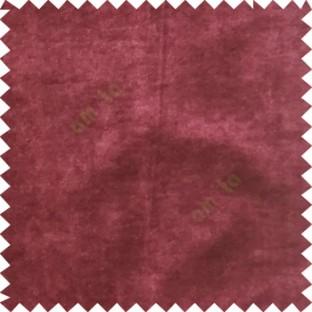 Pink plain design velvet finish nylon curtain fabric