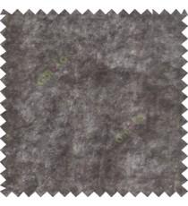 Grey plain design velvet finish nylon curtain fabric