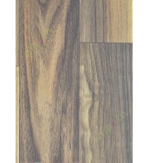 Brown colour walnut finish pvc flooring