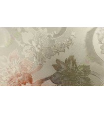 Frosted beautiful floral design decorative glass film