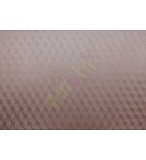 Brown color circles decorative glass film