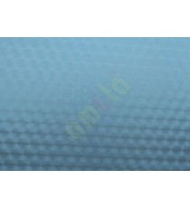 Blue color circles decorative glass film
