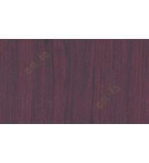 Carribean walnut wood finish decorative glass sticker