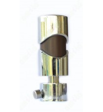 Brown ss colour cylindrical design shiny finish ss finial